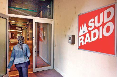Les locaux de la station Sud Radio, à Toulouse.