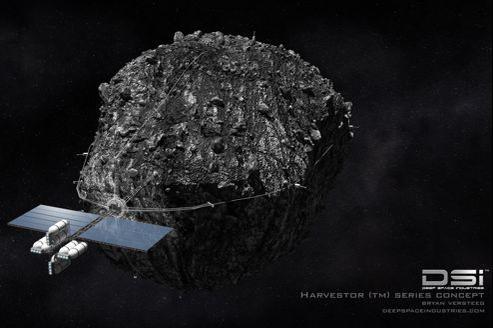 Deep Space Industries est l'une des deux entreprises qui projettent d'exploiter les minerais présents sur les astéroïdes.