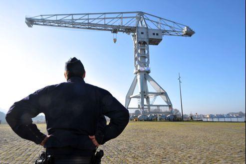 Nicolas Moreno, le deuxième père retranché sur une grue à Nantes, est redescendu en fin d'après-midi.