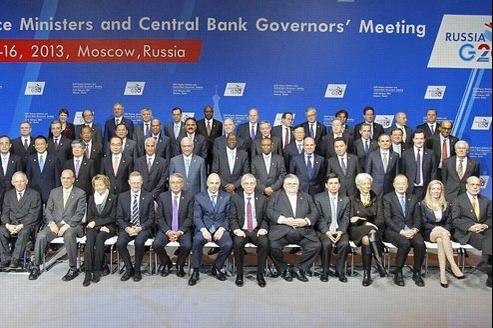 Les pays du G20 réunis à Moscou