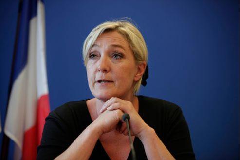 Selon Marine Le Pen, «la France connaît une situation de violence du quotidien inédite dans son histoire».