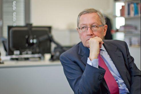 Klaus Regling, mardi à Luxembourg.