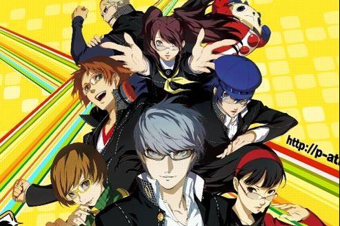 Les huit héros de Persona 4