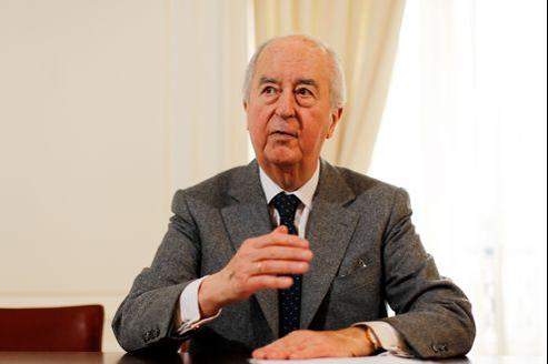 L'ancien premier ministre Édouard Balladur.
