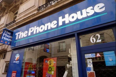 Une boutique de The Phone House. Crédit: Richard Vialeron/Le Figaro