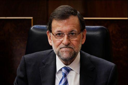 Le premier ministre espagnol, Mariano Rajoy, mercredi, à Madrid.