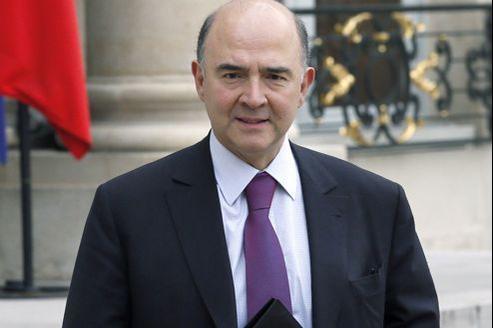 Pierre Moscovici, le 13 février, à l'Élysée.