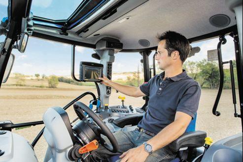 Pour les agriculteurs, l'arrivée des tablettes est perçue comme une «source de gain de temps, un moyen de faciliter le travail et d'améliorer le confort de vie».