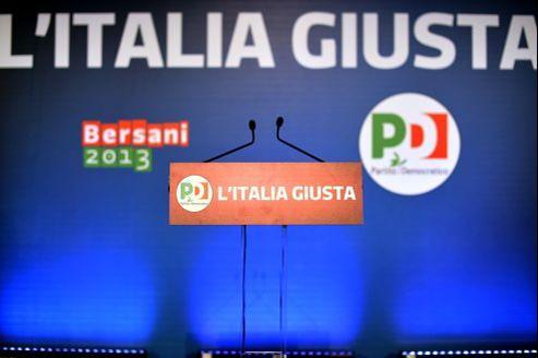 Le Parti démocrate (PD, centre gauche) gagne 29,55% des voix, soit une avance de 125.000 voix d'avance sur le centre droit (à 29,18%).