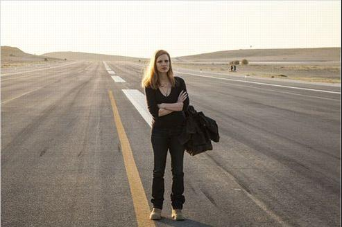 Jessica Chastain, nommée dans la catégorie meilleure actrice, est repartie bredouille de la cérémonie des Oscars.