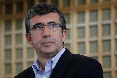 Jean-Marc Tassetto, directeur général de Google France. Jean-Christophe MARMARA / Le Figaro