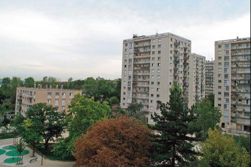 La cité des Boullereaux, à Champigny-sur-Marne (Val-de-Marne).
