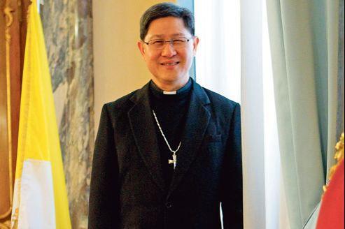 L'archevêque de Manille, Luis Antonio Tagle, à Rome, le 9 février 2012.