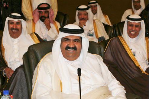 L'émir qatari Hamad bin Khalifa Al Thani.
