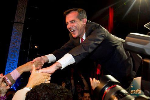 Eric Garcetti, fils de l'ex-procureur Gil Garcetti, est l'un des candidats favoris dans la course à la mairie de Los Angeles.