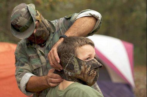 Entraînement du North Florida Survival Group, l'un des groupes pro-armes recensés par le SPLC.