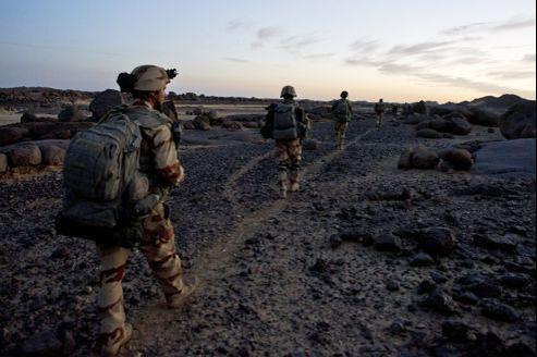 L'opération française au Mali a démarré le 11 janvier dernier.