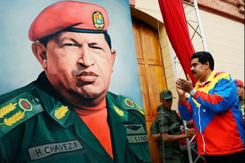 Nicolas Maduro, actuel vice-président, le 4 février à Caracas.