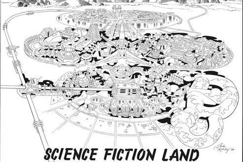 Le projet Argo, initié par le producteur Barry Ira Geller, a bénéficié de dessins préparatoires signés du «roi des comics», Jack Kirby.