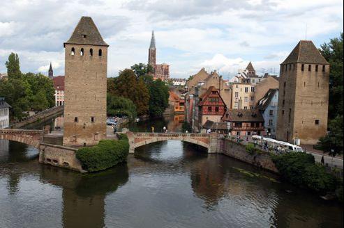 Le quartier de la Petite France à Stasbourg qui sera une des premières capitales à se lancer dans l'aventure.