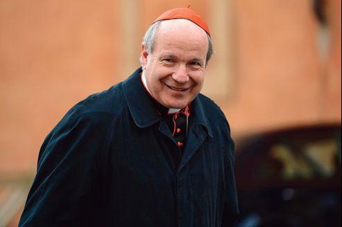L'archevêque de Vienne, Christoph Schönborn, 68 ans.