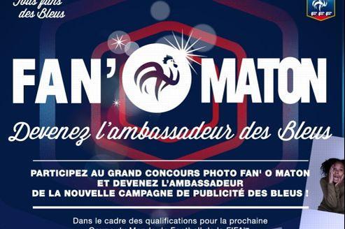 Les supporteurs ont jusqu'au 20 avril pour poster leurs photos de supporteurs sur les réseaux sociaux. Le gagnant sera la prochaine égérie de l'Équipe de France.