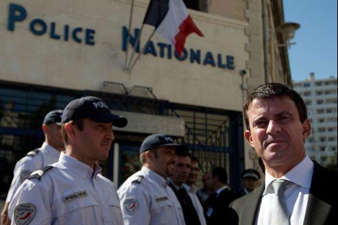 Manuel Valls en déplacement à Marseille, en septembre dernier.