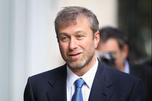 L'homme d'affaires russe Roman Abramovitch.