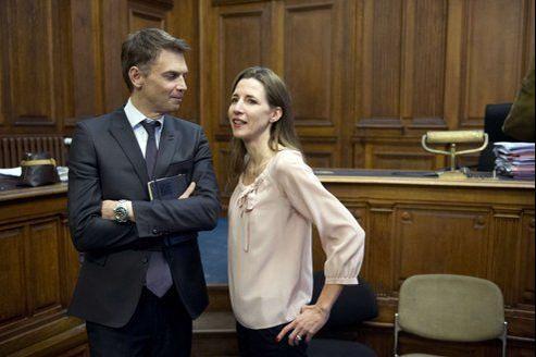 Alix Bouilhaguet et Christophe Jakubyszyn, auteurs de l'ouvrage La Frondeuse.