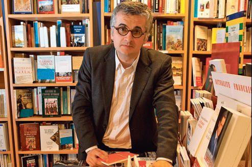 Philippe Touron, directeur de la librairie Le Divan (Paris XVe).