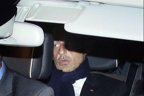 L'ancien chef de l'État à quitté le tribunal de Bordeaux, jeudi, peu avant 22 heures.