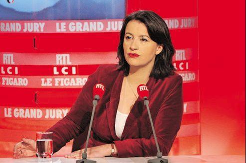 Cécile Duflot, dimanche lors du «Grand Jury RTL-LCI-Le Figaro».