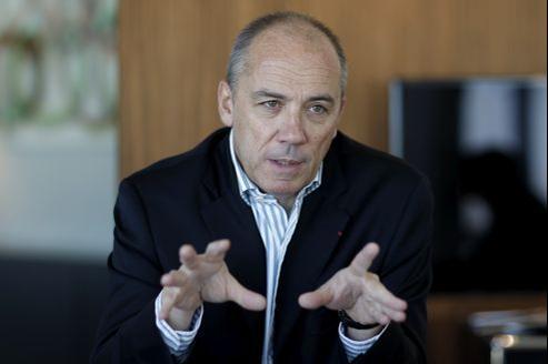Stéphane Richard, PDG de France Télécom.