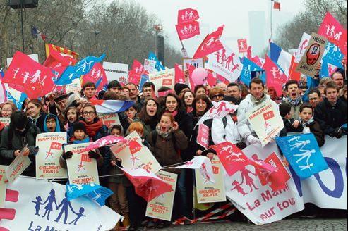 Dimanche à Paris, le collectif la Manif pour tous a revendiqué 1,4 million de manifestants.