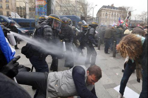 Matthieu Castellano s'est reconnu sur cette photo, parue dans l'édition de lundi du Figaro.