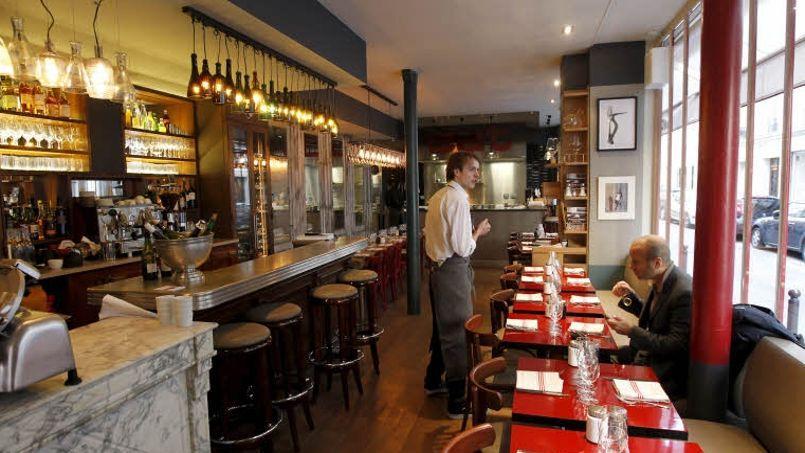 La fréquentation des restaurants a baissé de 2% en France en 2012 et les professionnels craignent une année très difficile en 2013. Crédit: Jean-Christophe MARMARA / Le Figaro.