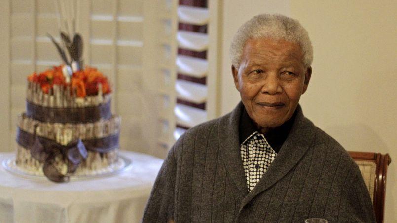 Nelson Mandela, en 2012.