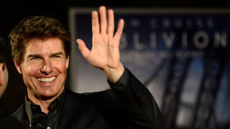 Tom Cruise à la première du film Oblivion en Argentine.