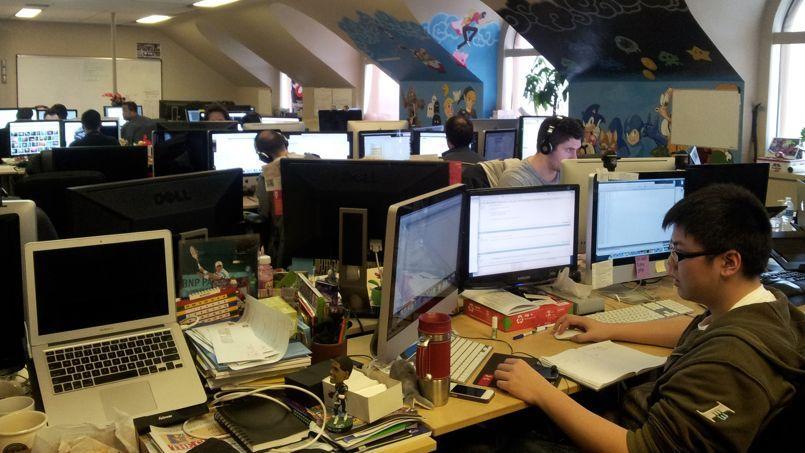 Pour beaucoup de développeurs français, l'expatriation est un choix de carrière quasi obligatoire. Crédit photo Chloé Woitier/Figaro