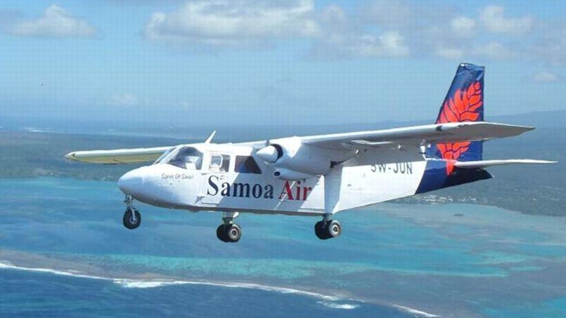 Samoa Air, qui a été lancée l'an dernier, exploite des appareils BN2A Islander et Cessna dans le Pacifique. Crédit: Samoaair.ws