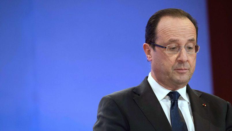 François Hollande, le 3 avril à Casablanca.