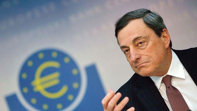 Mario Draghi, jeudi à Francfort.