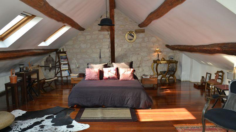 Ile de france nos plus belles chambres d 39 h tes for La plus belle chambre