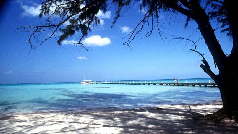 Une plage des îles Caïmans.