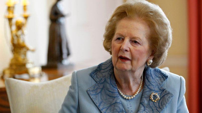 La Dame de fer n'a pas été épargnée par les hymnes contestataires des musiciens britanniques.