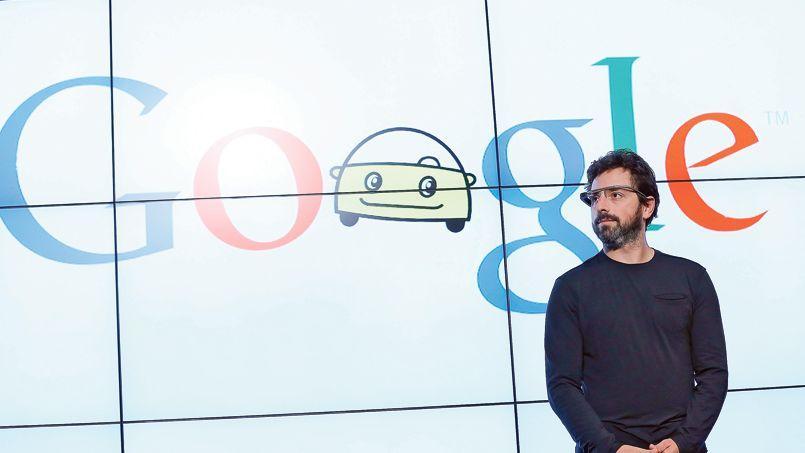 Sergey Brin, cofondateur de Google, à Mountain View, siège du groupe, en septembre 2012.
