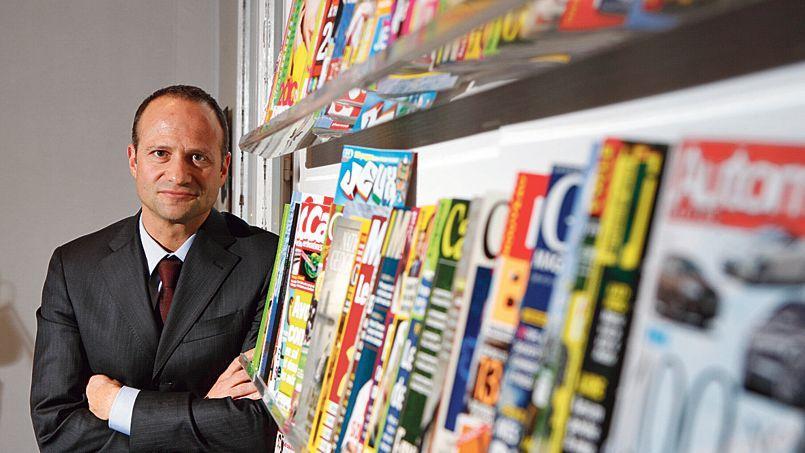 Rolf Heinz dirige Prisma Media depuis 2009. Le groupe a multiplié les acquisitions de sites Internet pour enrichir l'offre digitale de ses magazines.