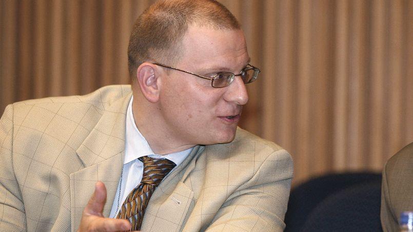 Konstantin Dolgov, représentant pour les droits de l'homme du ministère russe des Affaires étrangères, à Addis-Abeba en 2007.