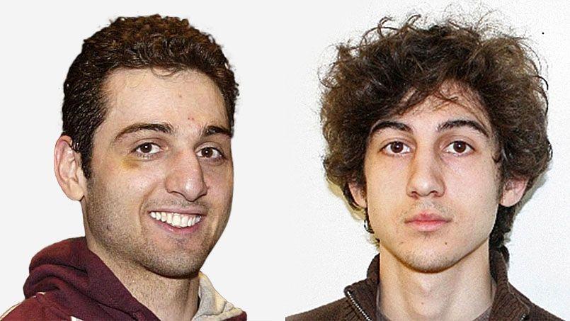 Tamerlan Tsarnaïev (à gauche),«suspect numéro un» du FBI, avait 26 ans. Djokhar, 19 ans, encore recherché jeudi soir, est le «suspect numéro deux».