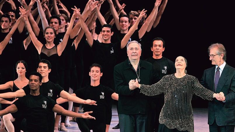Alicia Alonso (ici au Théâtre national de la Havane, en octobre 2012), dirige à l'âge de 93 ans le Ballet national de Cuba.